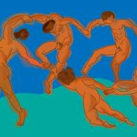 The Dance of Men Art Prints & Posters by Francisco 'Paco' Dozier