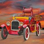 """1927 Dodge Bros Fire Truck"" by FatKatPhotography"