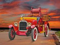 1927 Dodge Bros Fire Truck