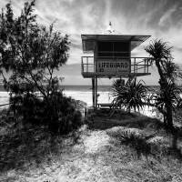 Life Guard Tower Art Prints & Posters by Frozenlite Photography