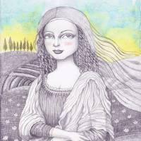 Monalisa Art Prints & Posters by Emila Yusof
