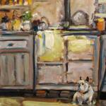 """Puppy in my Kitchen"" by susanejones"