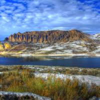 Blue Mesa Lake Art Prints & Posters by Mellow Rapp