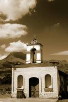 Old Stone Church in Cotacachi Ecuador