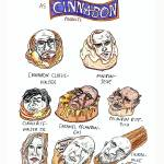 """Breaking Bad Characters as Cinnabon Products"" by Polylerus"
