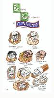 Breaking Bad Characters as Cinnabon Products