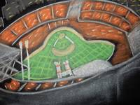 Cincy Reds in chalk