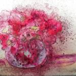 """""""Pink Flowers"""" by artbyclaire"""