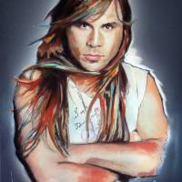 Bruce Dickinson Art Prints & Posters by Melanie D