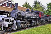 U.S. Plywood 2-6-6-2 Steam Locomotive
