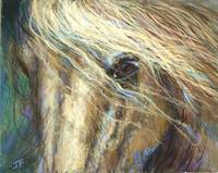 Wistful Gaze By Janet Ferraro Fine Art
