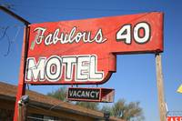 Route 66 - Fabulous 40 Motel