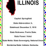 """Illinois Information Educational"" by ValeriesGallery"