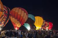 Night Hot Air Balloon Festival