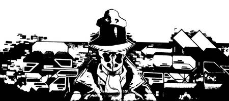 Rorschach hires black