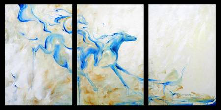 Running Water triptych