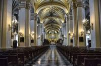 In Lima Cathedral