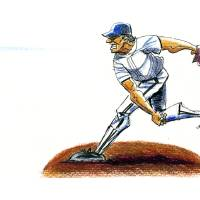 fastball Art Prints & Posters by Kevin Fermoyle
