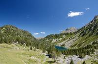 Neouvielle nature reserve in the summer Pyrenees