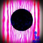 """Black Magenta Love Planet 6-28-2014 2-52-11 PM 173"" by EdKaitz"