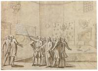 FRENCH SCHOOL, 18TH CENTURY - PRESENTATION OF AN U