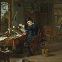 """MICHIEL VAN MUSSCHER     A DOCTOR IN HIS"" by Adam Asar"