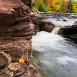 """Bonanza Waterfalls in Michigan"" by sterk"