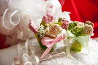 01 weddings fawors whit soap flower