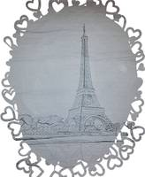 Eiffel Tower Hearts