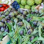"""Artichoke - The market in Nice France"" by awsheffield"