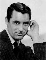 English-American actor Cary Grant in a publicity s