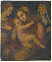 FLORENTINE SCHOOL, 16TH CENTURY - THE MADONNA AND