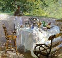 Hanna Pauli, (1864 - 1940)  Breakfast time  1887