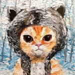 """""""Wolf Kitten"""" by SagittariusGallery"""