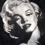 """Marilyn Monroe Black Border"" by ScottSmith"