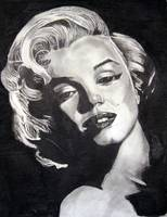 Marilyn Monroe Black Border