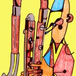 """The Contrabassoonist"" by Polylerus"