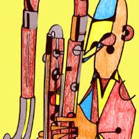 The Contrabassoonist Art Prints & Posters by Pollux (Paul Morris)