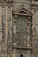 Hotel Sign with Flaking Paint A011201_1406902