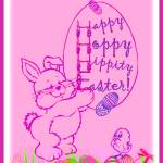 """Happy Hoppy Hippity Easter"" by theviewfromhere"