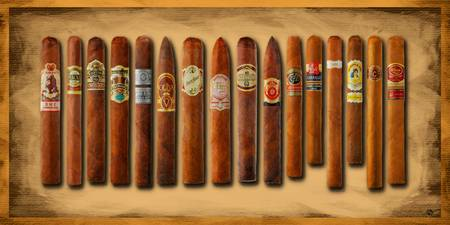 Cigar Sampler Painting