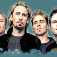 Nickelback Art Prints & Posters by Melanie D
