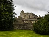 Craigmillar castle in Edinburg