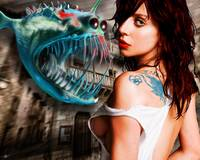 Lady Gaga And Angler Fish