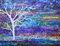 Contemporary Abstract tree landscape