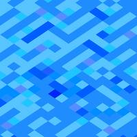 Blue Maze Abstract Low Polygon Background