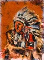 Indian Chief  by Humphrey Isselt