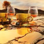 """""""Coffee and Cognac"""" by AnneVis"""
