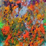 """ORANGE-SPLASH OF FLOWERING COLOUR, EDIT C"" by nawfalnur"