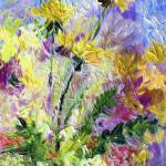 """Modern Decor Dandelion Flowers"" by GinetteCallaway"
